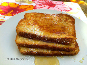 a plate of Classic French toast