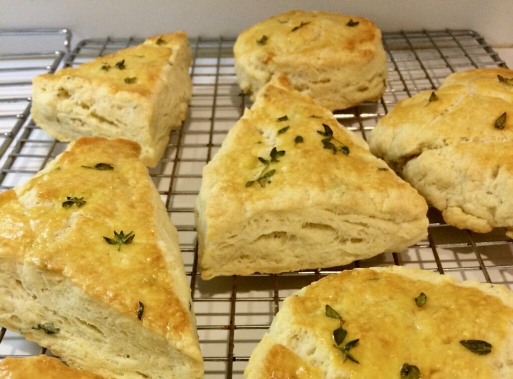 Thyme Biscuits