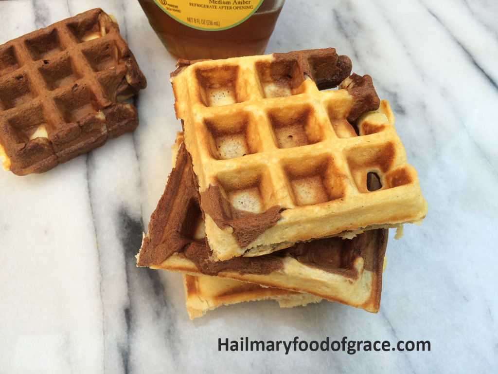 Marble waffles
