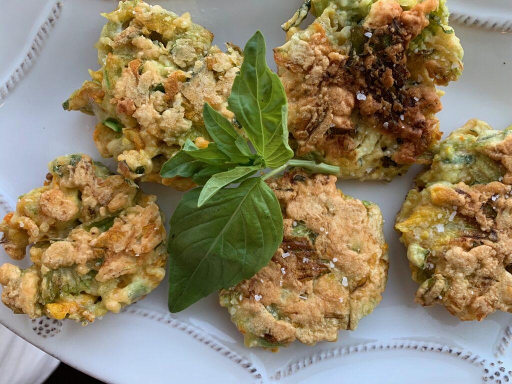 Squash Blossom Fritters