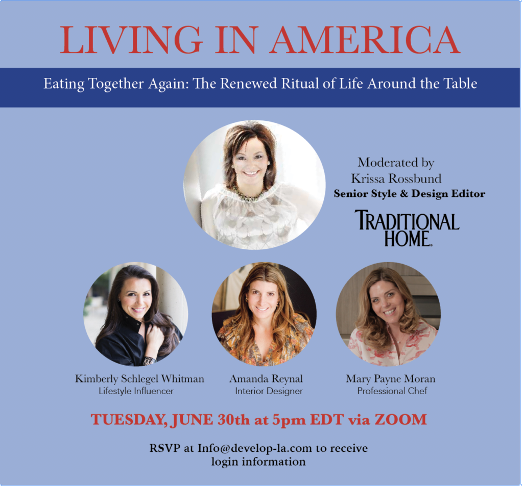 living in America event poster